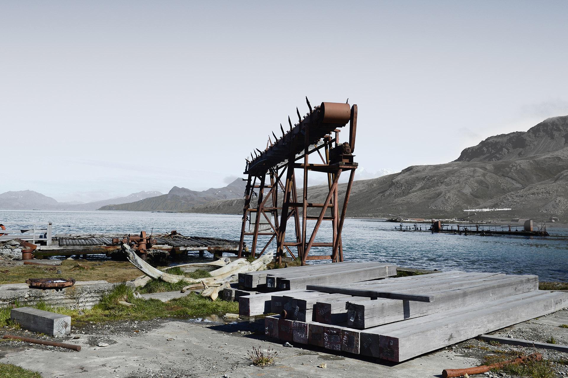 Grytviken, South Georgia<br/>Impresión digital / Inject print