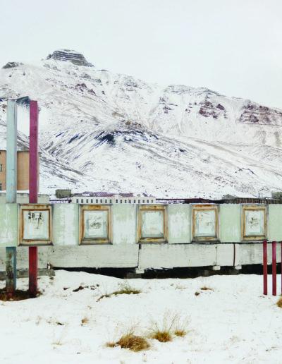 Pyramiden, Spitsbergen, Svalbard<br/>Impresión digital / Inject print