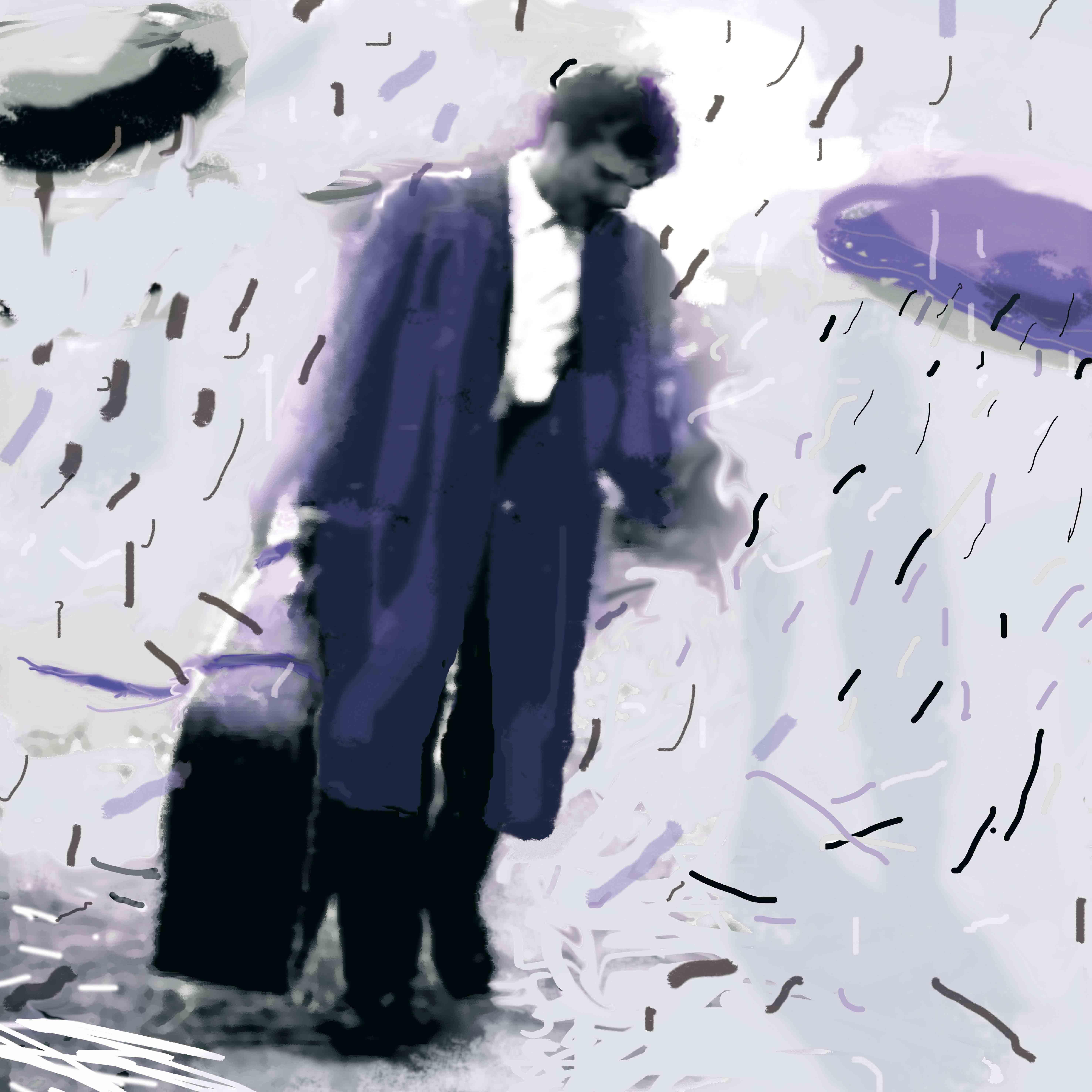 El que atrae la lluvia, 2009<br/>Giclée