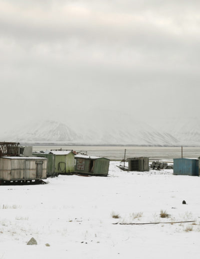 Pyramiden, Spitsbergen, Svalbard, 2013<br/>Impresión digital / Inject print