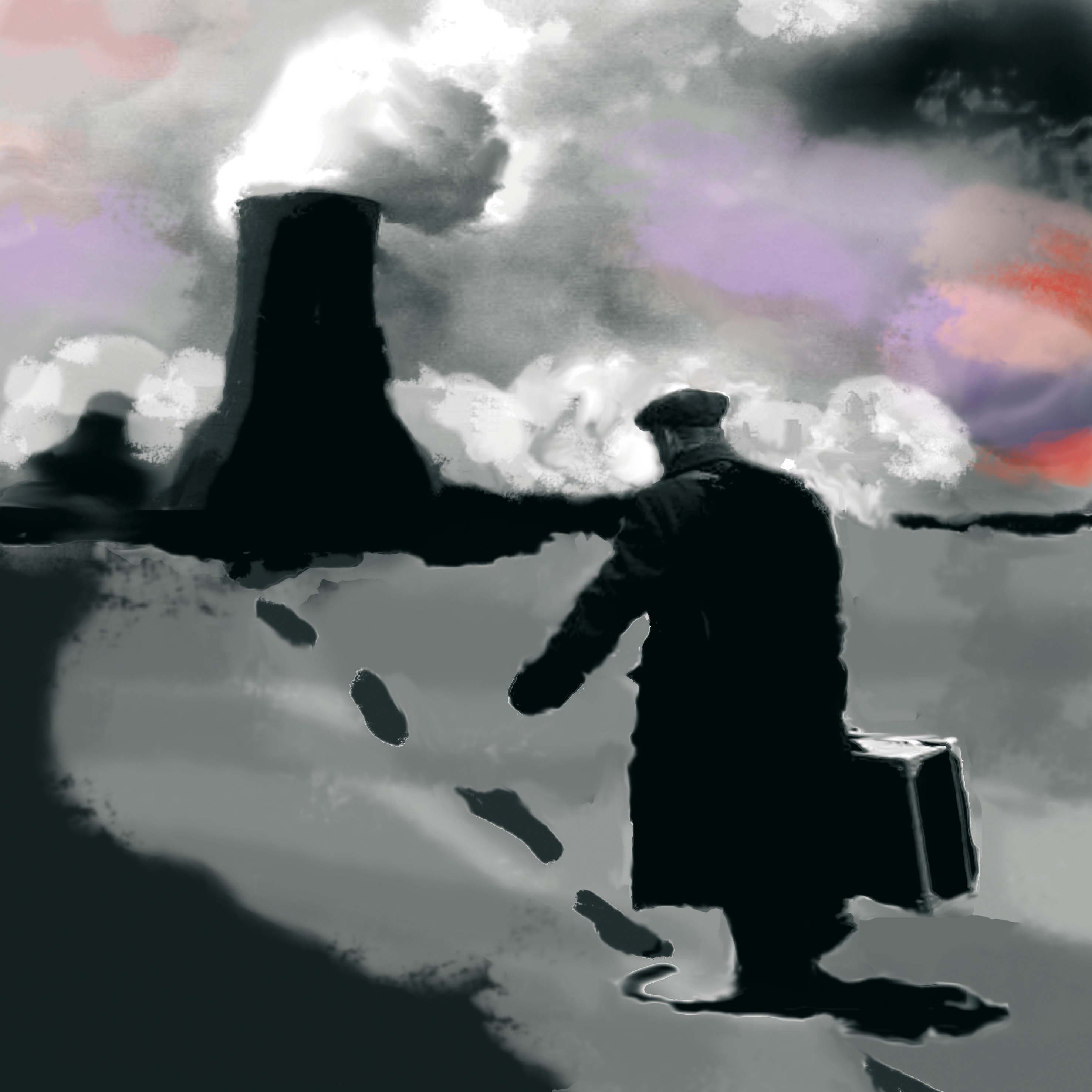 Operario nuclear, 2009<br/>Giclée