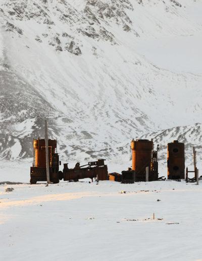 Blomstrandhalvya, Spitsbergen, Svalbard<br/>Impresión digital / Inject print