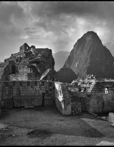 Templo sagrado, Macchu Picchu, 1934<br/>Gelatina de plata / Silver gelatin print