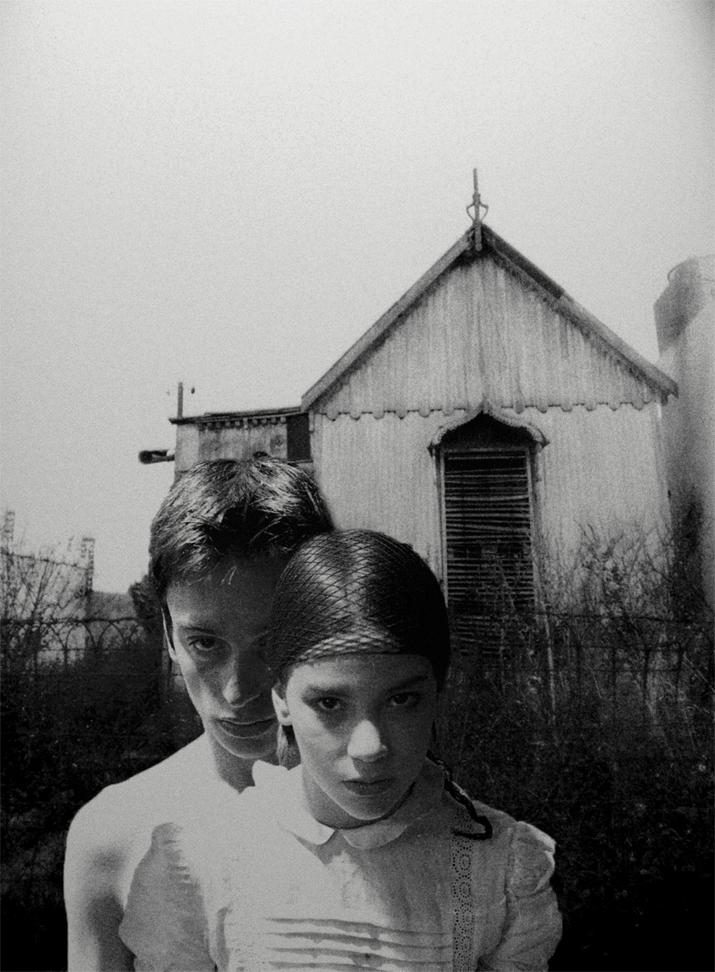 Veru Iché. Secretos con saliva, 2010<br/>Fotografía analógica con tratamiento en la copia de papel fb / Analogic photograph treated print.