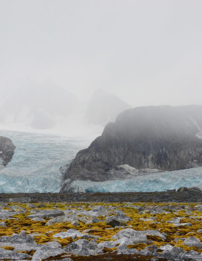 Raudfjorden, Spitsbergen, Svalbard<br/>Impresión digital / Inject print