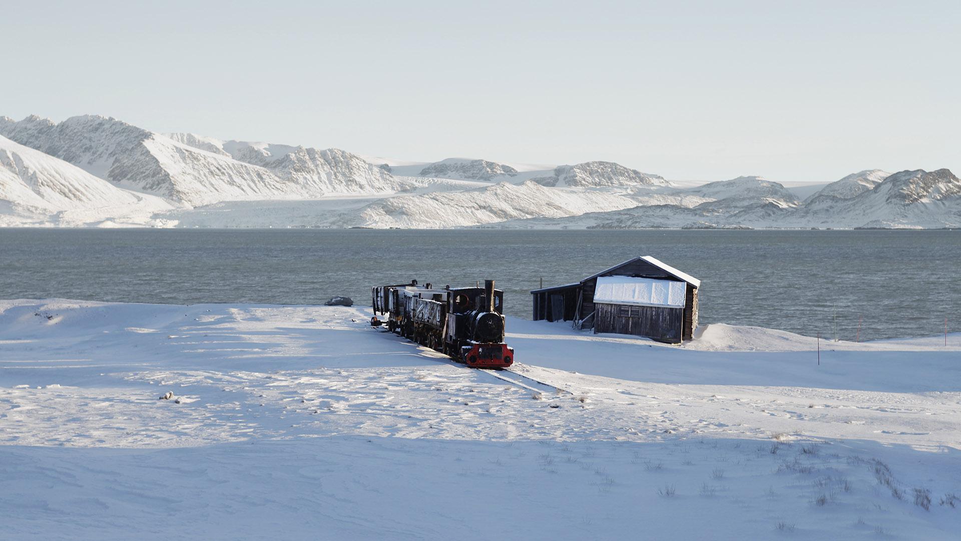 Ny-Alesund, Spitsbergen, Svalbard, 2013<br/>Impresión digital / Inject print