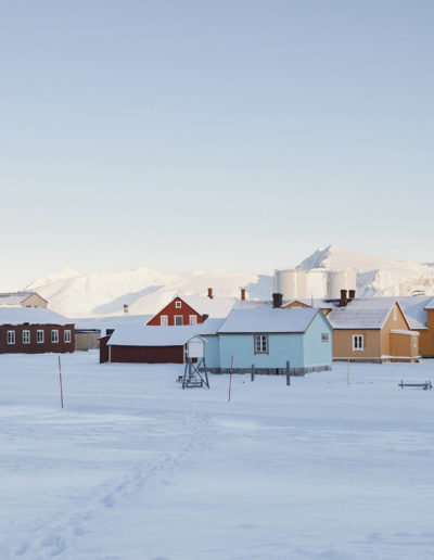 Ny-Alesund, Spitsbergen, Svalbard<br/>Impresión digital / Inject print