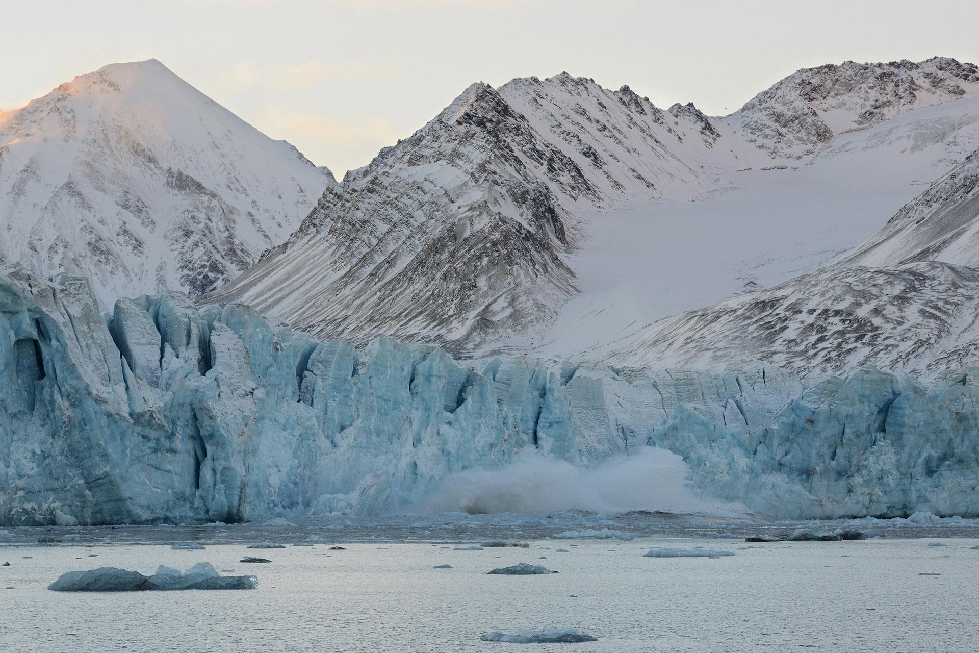 Kronebreen, Spitsbergen, Svalbard<br/>Impresión digital / Inject print
