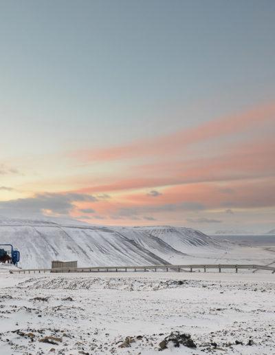 Longyerbyen, Spitsbergen, Svalbard<br/>