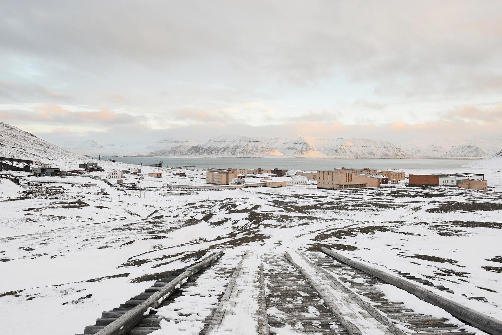 Pyramiden, Spitsbergen, Svalbard<br/>