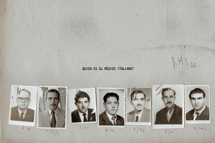 Quien es el medico italiano<br/>Fotografía analógica con tratamiento en la copia de papel fb / Analogic photograph treated print.
