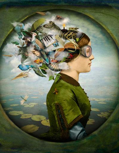 The burden of dreams (woman), 2013<br/>Impresión de tintas de pigmentos / Inkjet print