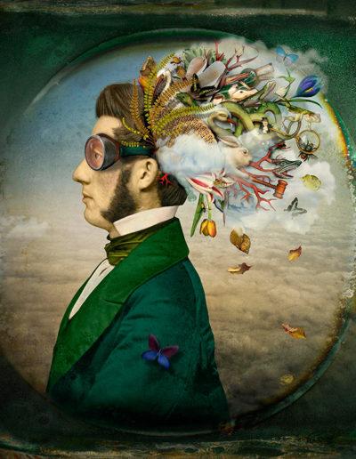 The burden of dreams (man), 2013<br/>Impresión de tintas de pigmentos / Inkjet print