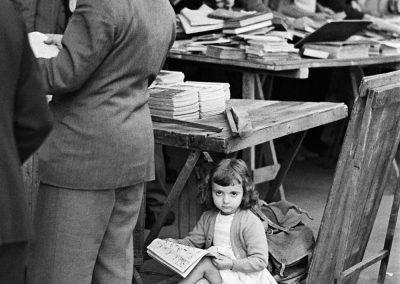 Mercado de San Antonio,1955 Barcelona<br/>Gelatina al clorobromuro de plata con tratamiento de archivo al selenio / Silver gelatine with archival selenium treatment