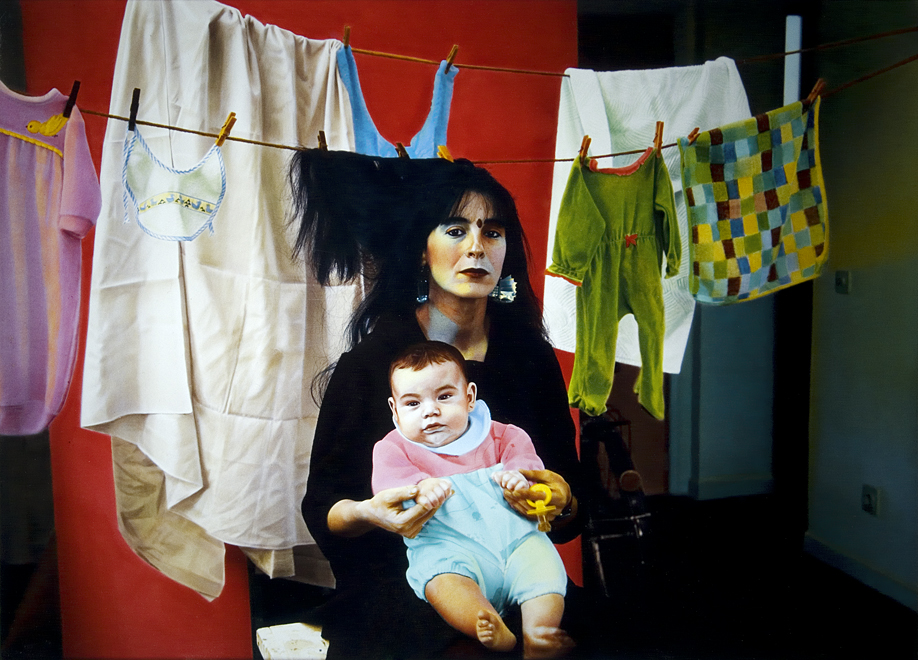 Angela y Siro, 1984<br/>Tintas pigmentadas / Inkjet