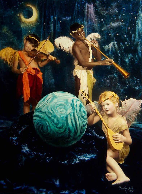 Angelitos, 1996<br/>Tintas pigmentadas / Inkjet