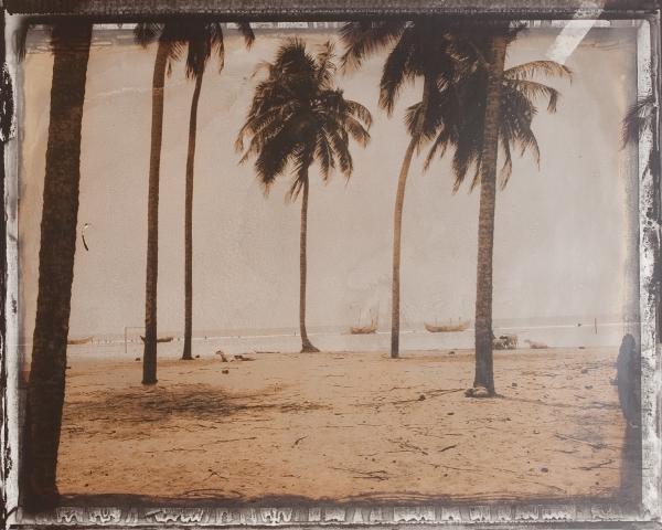 Assinie, Costa de Marfil, 1999<br/>Impresión de tintas de pigmentos / Inkjet