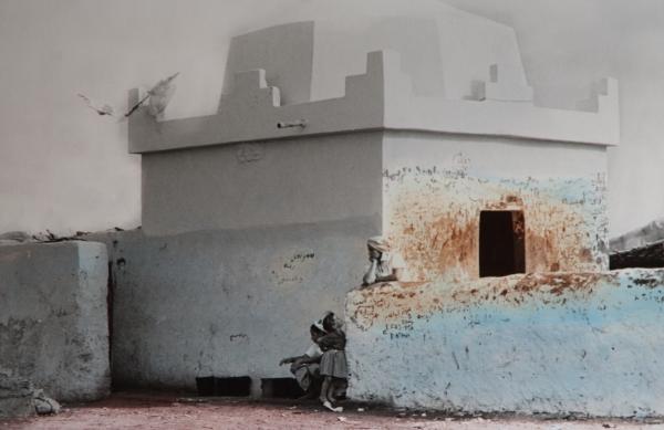 Azzemour, Lalla Aicha, 1990<br/>Impresión de tintas de pigmentos / Inkjet