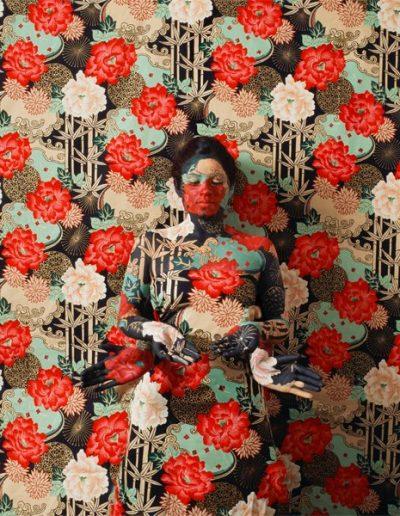 Bamboo Path, 2012<br/>Impresión de tintas de pigmentos