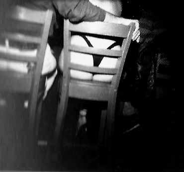Bar Stool, 1995<br/>Gelatina de plata / Silver gelatin