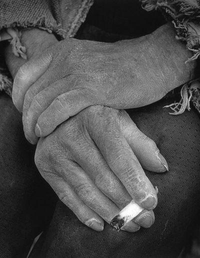 Barrio de Tetuán. Madrid, 1965<br/>Gelatina de clorobromuro de plata con tratamiento de archivo al selenio / Silver gelatine with archival selenium treatment
