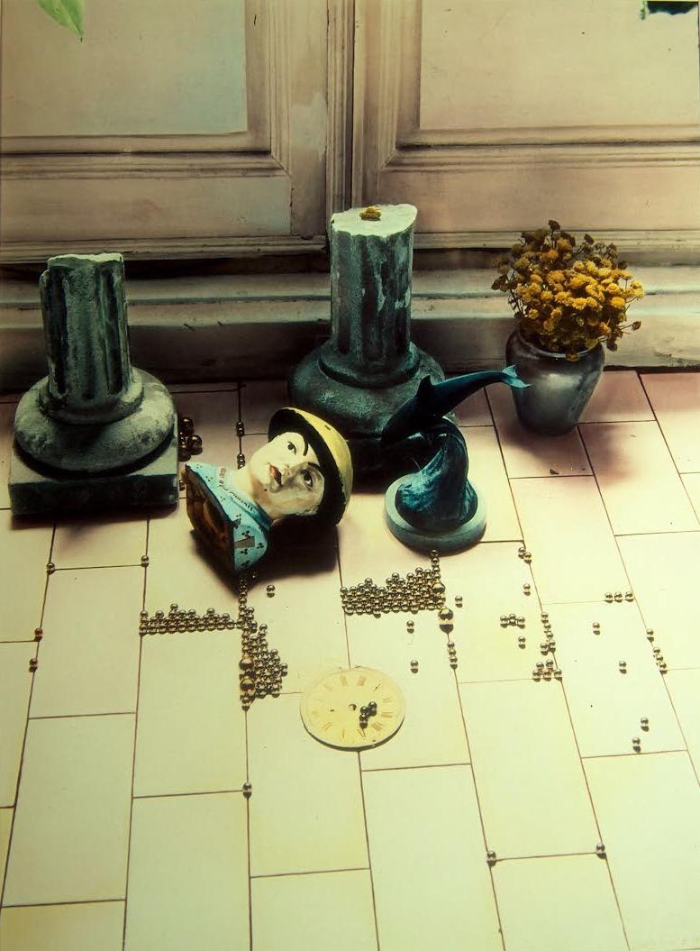Bodegón para Cristóbal, 1986<br/>Tintas pigmentadas / Inkjet
