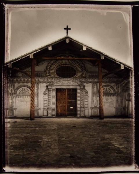 Bolivie. Église de San Xavier, 2010<br/>Impresión de tintas de pigmentos / Inkjet