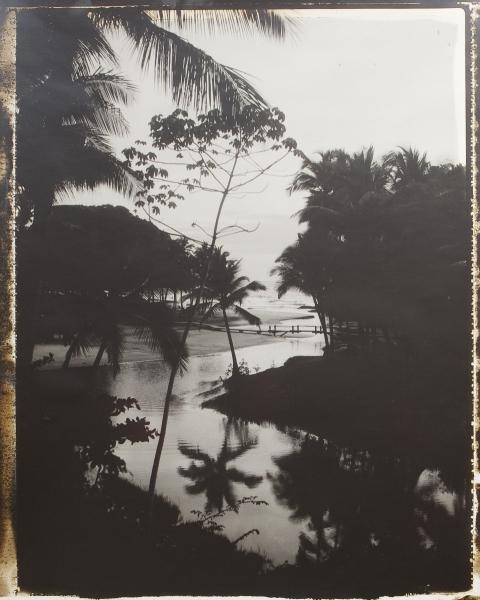 Brésil. Embouchure a Itacaré, 2006<br/>Impresión de tintas de pigmentos / Inkjet
