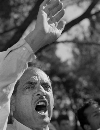 Buñuel, ca. 1955 - 1965<br/>Gelatina de clorobromuro de plata con tratamiento de archivo al selenio / Silver gelatine with archival selenium treatment