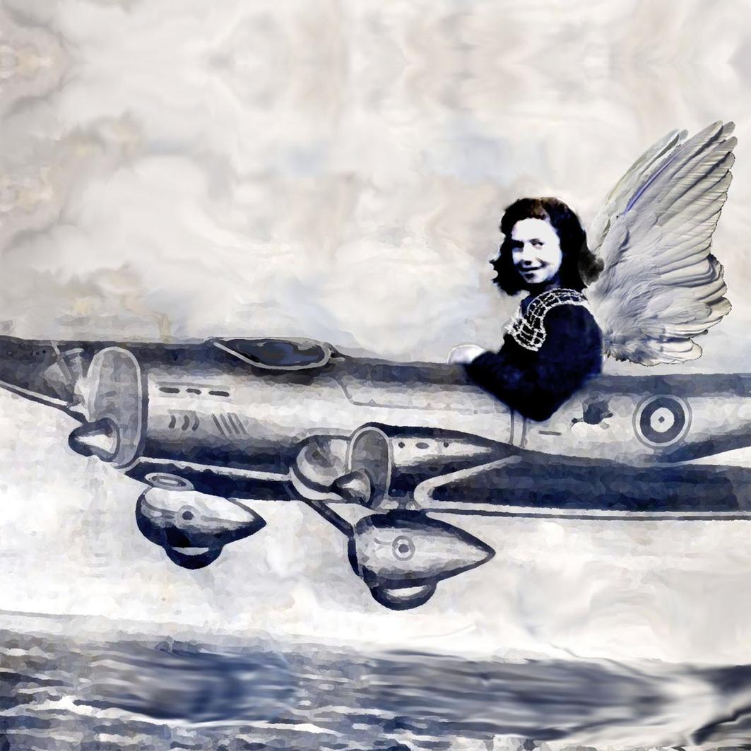 Celeste vuela bajo, 2011<br/>Giclée