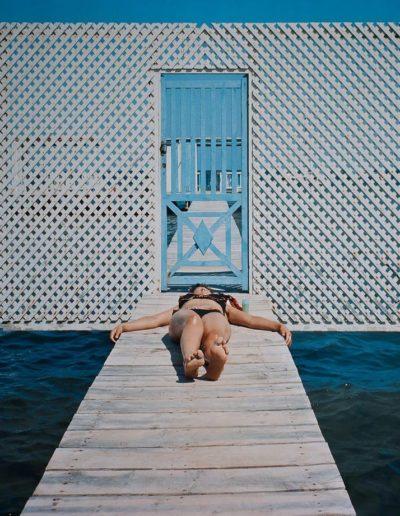 Mar Menor, Murcia, España, 1976<br/>Impresión cibachrome / cibachrome print