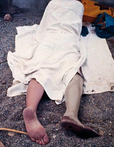 Ortopedia. Roquetas de Mar, Almería, España, 1980<br/>Impresión cibachrome / cibachrome print