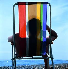 Playa serena, 1976<br/>Impresión de tintas de pigmento / Inkjet print