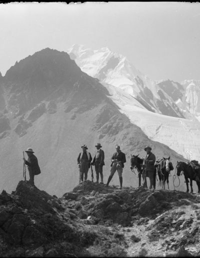 Nevado Salcanday (Expedición al Salcantay), 1935<br/>Gelatina de plata / Silver gelatin print