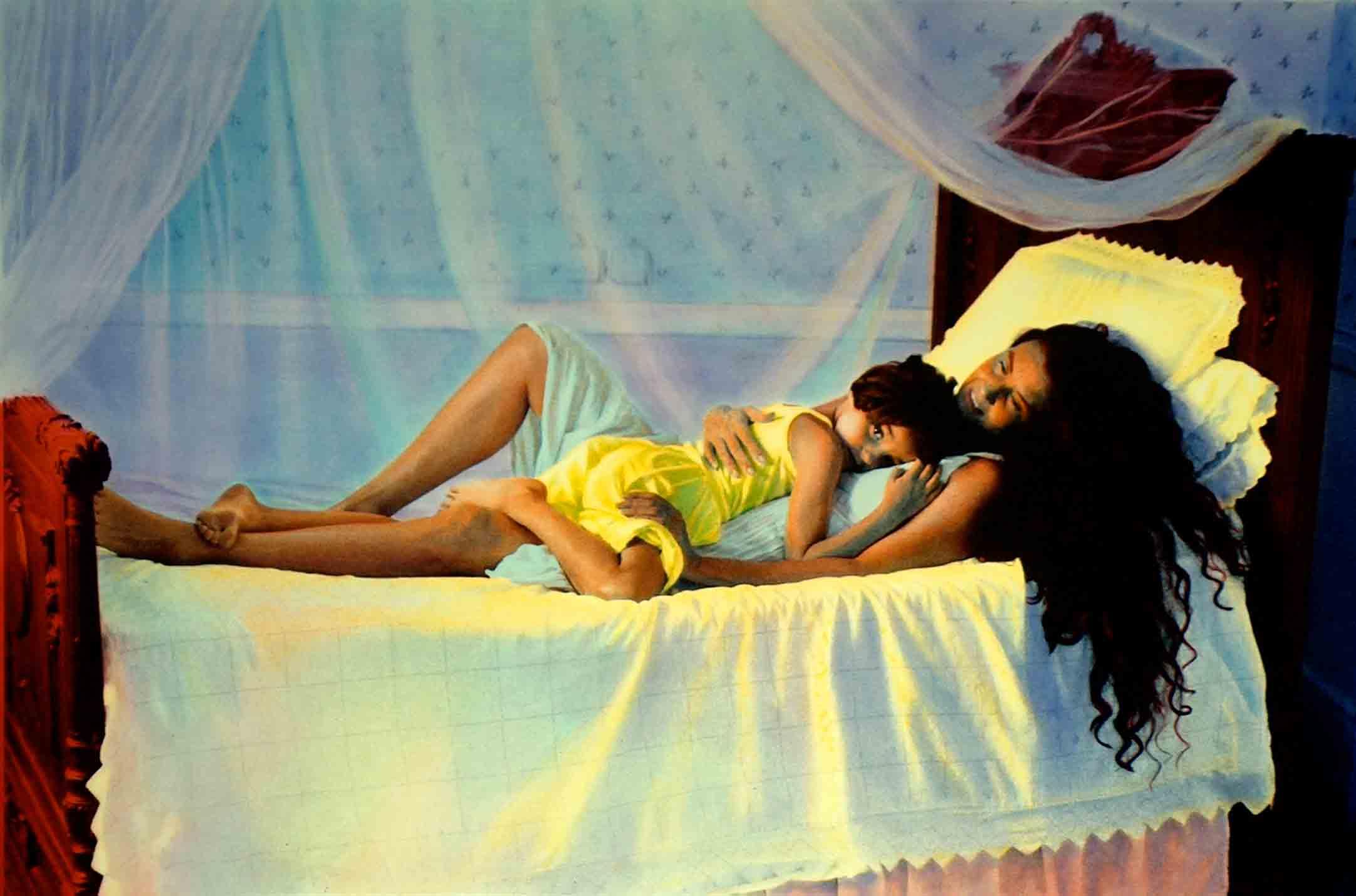 Con mamá, 1999<br/>Tintas pigmentadas / Inkjet