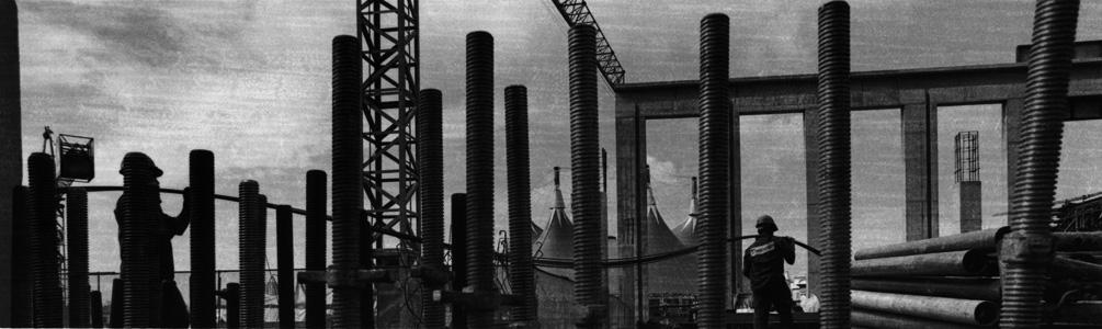 Construcao Torre Norte #1, 1999<br/>