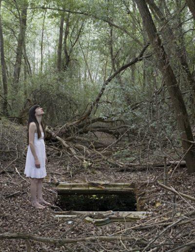 En el silencio IV, 2011<br/>C-Print
