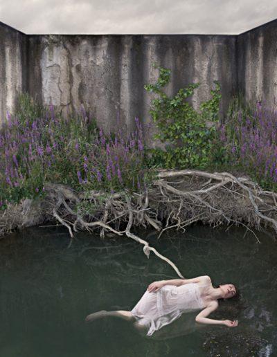 En el silencio XI, 2011<br/>C-Print.