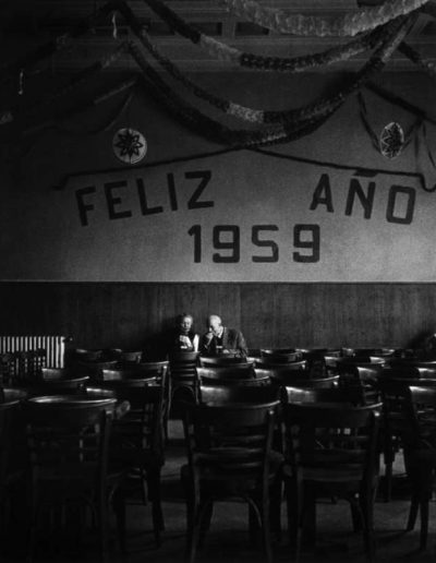 Feliz Año. Madrid, 1959<br/>Gelatina de plata / Silver Gelatin