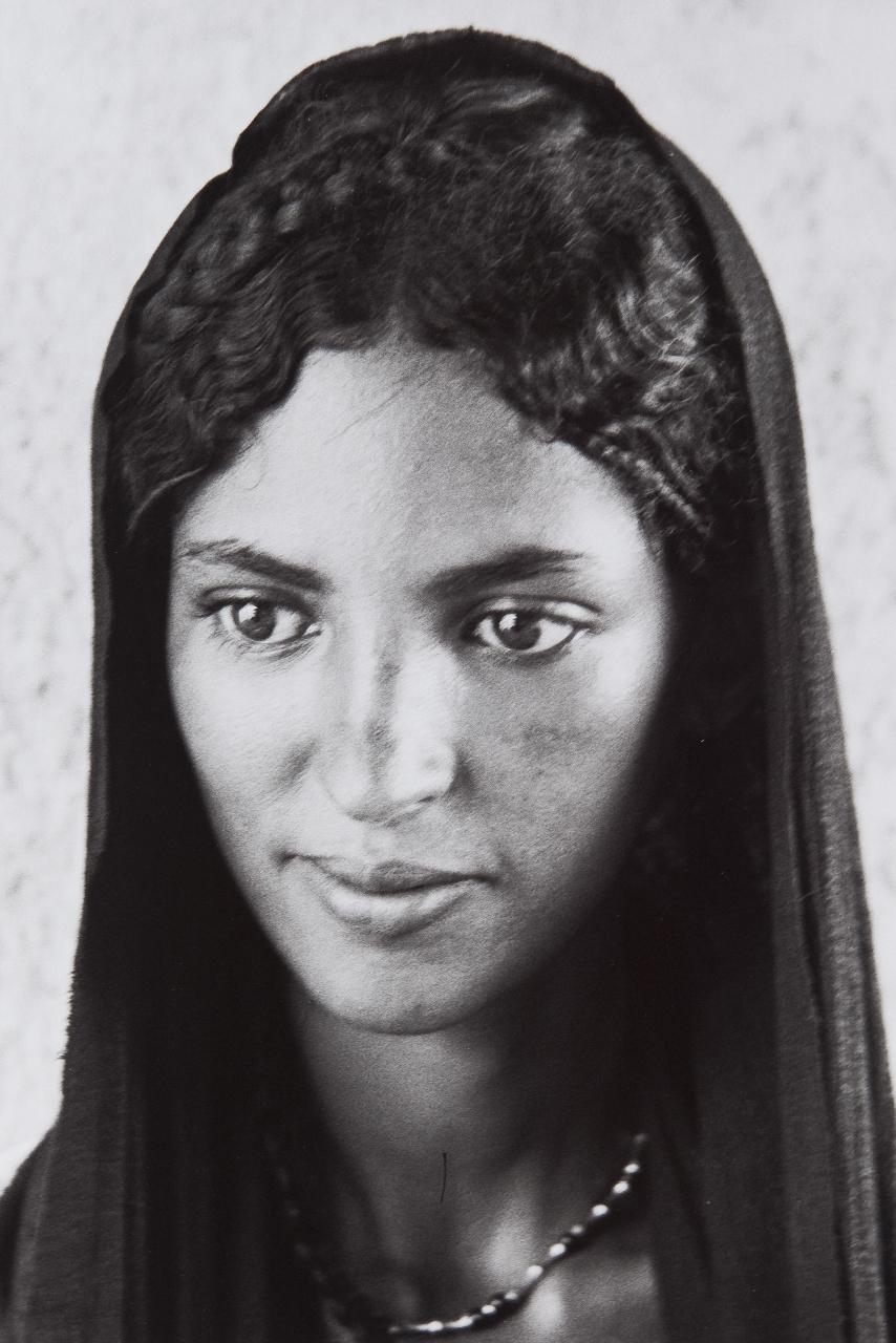 Femme Targui. Niger, 1982<br/>Impresión de tintas de pigmentos / Inkjet