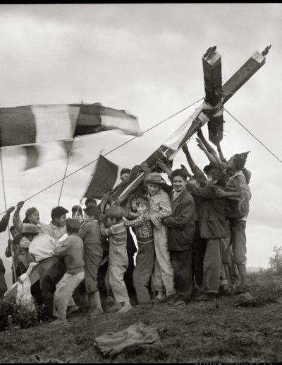 Fiesta de la cruz, 1930<br/>Gelatina de plata / Silver gelatin print