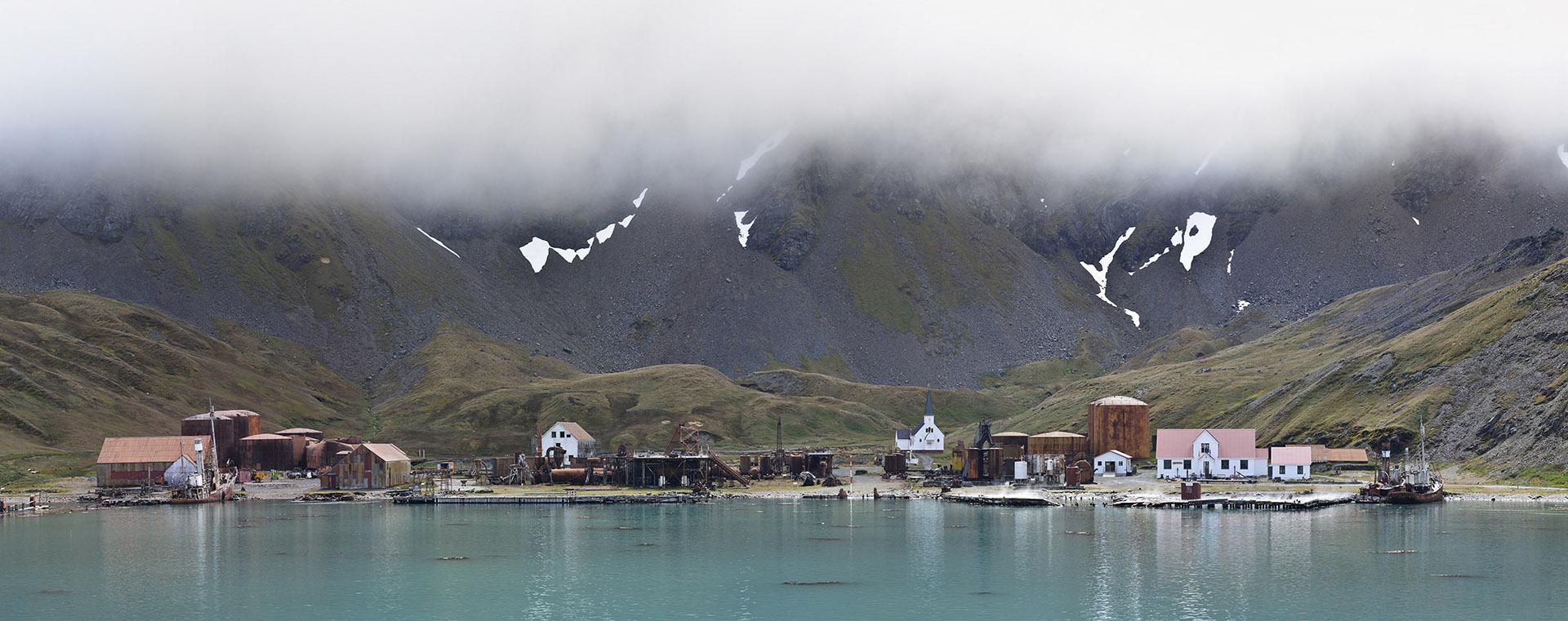 Grytviken, South Georgia<br/>