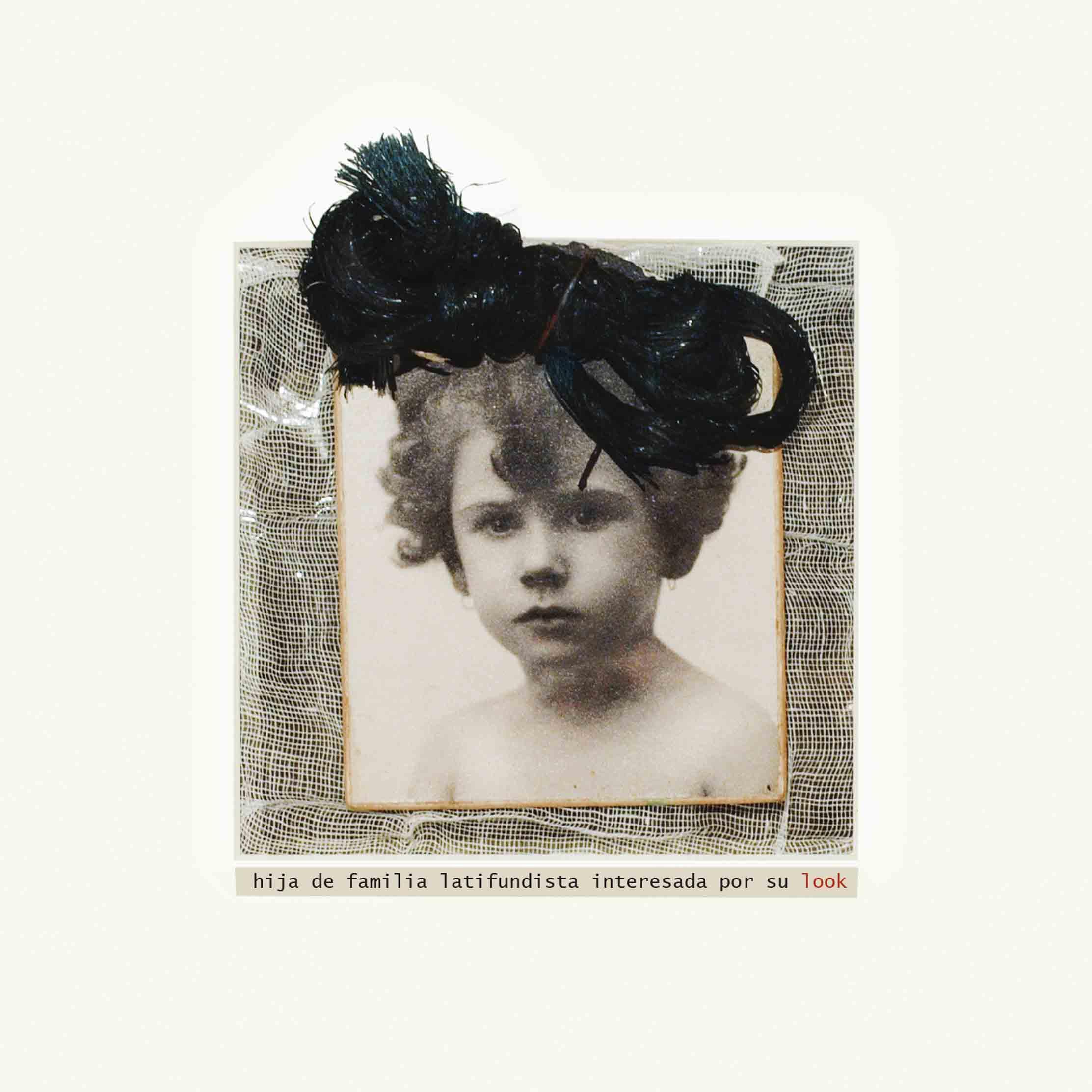 Hija de familia, 2009<br/>Fotografía de collage / Collage photography.