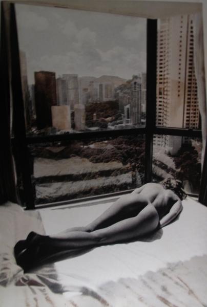 Hong Kong, Nue allongè. 2004<br/>Impresión de tintas de pigmentos / Inkjet