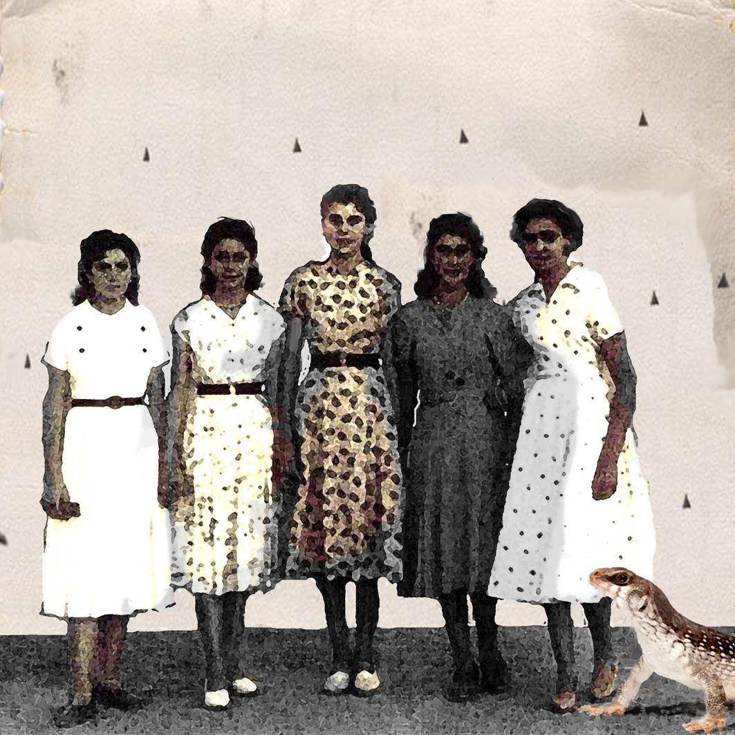 Iguanas y sus hermanas, 2011<br/>Giclée