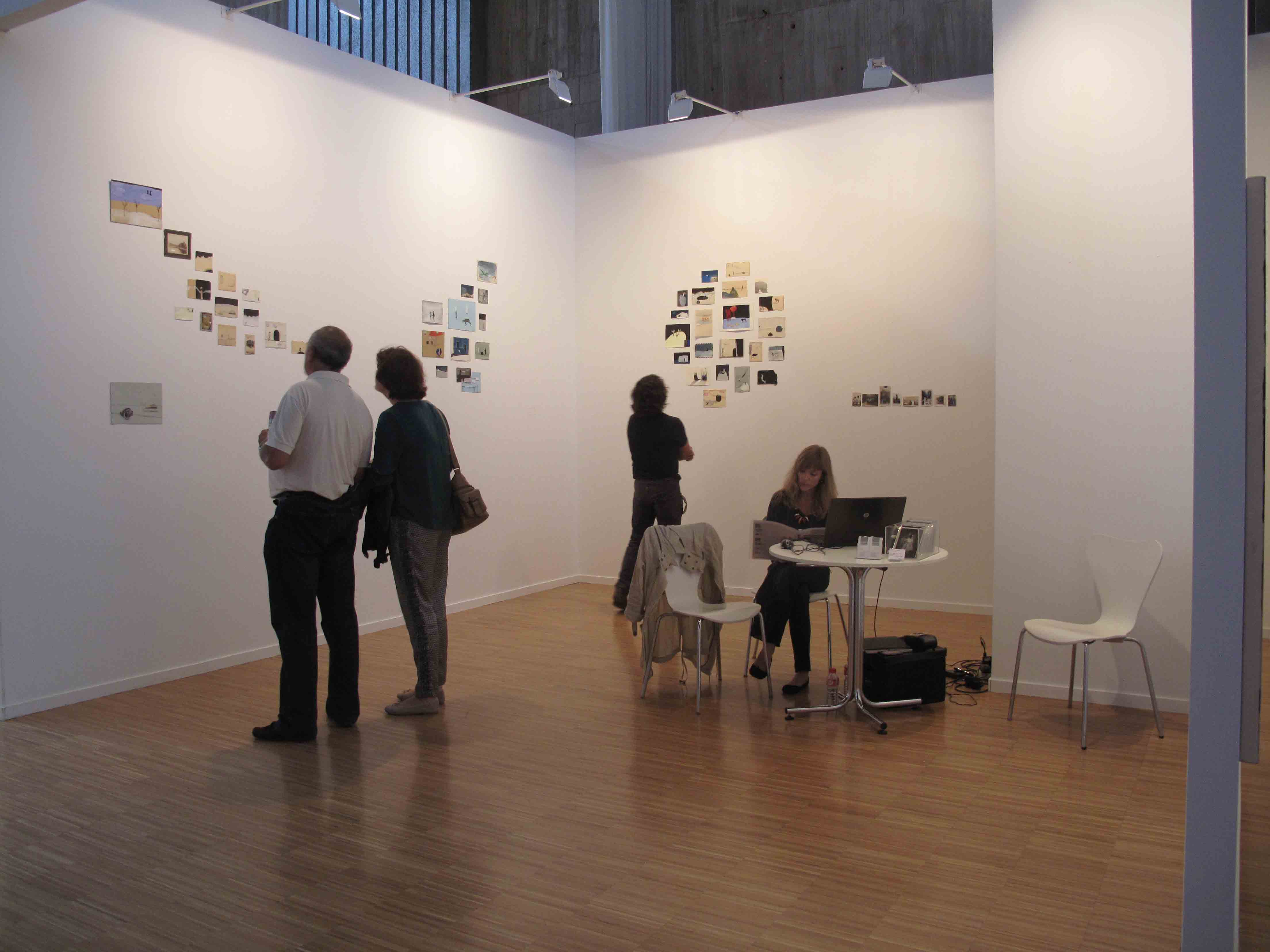 Stand de Blanca Berlín en Arte Santander 2012<br/>