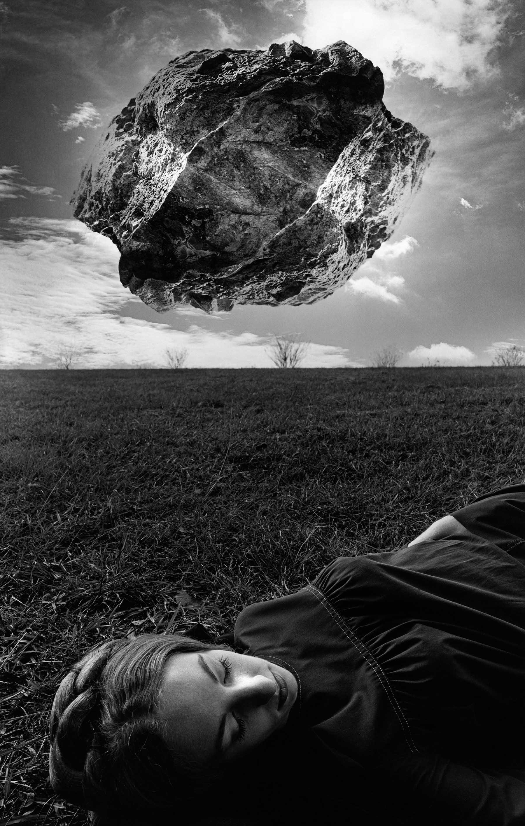 Magritte's Touchstone<br/>Gelatina de plata / Silver gelatin print