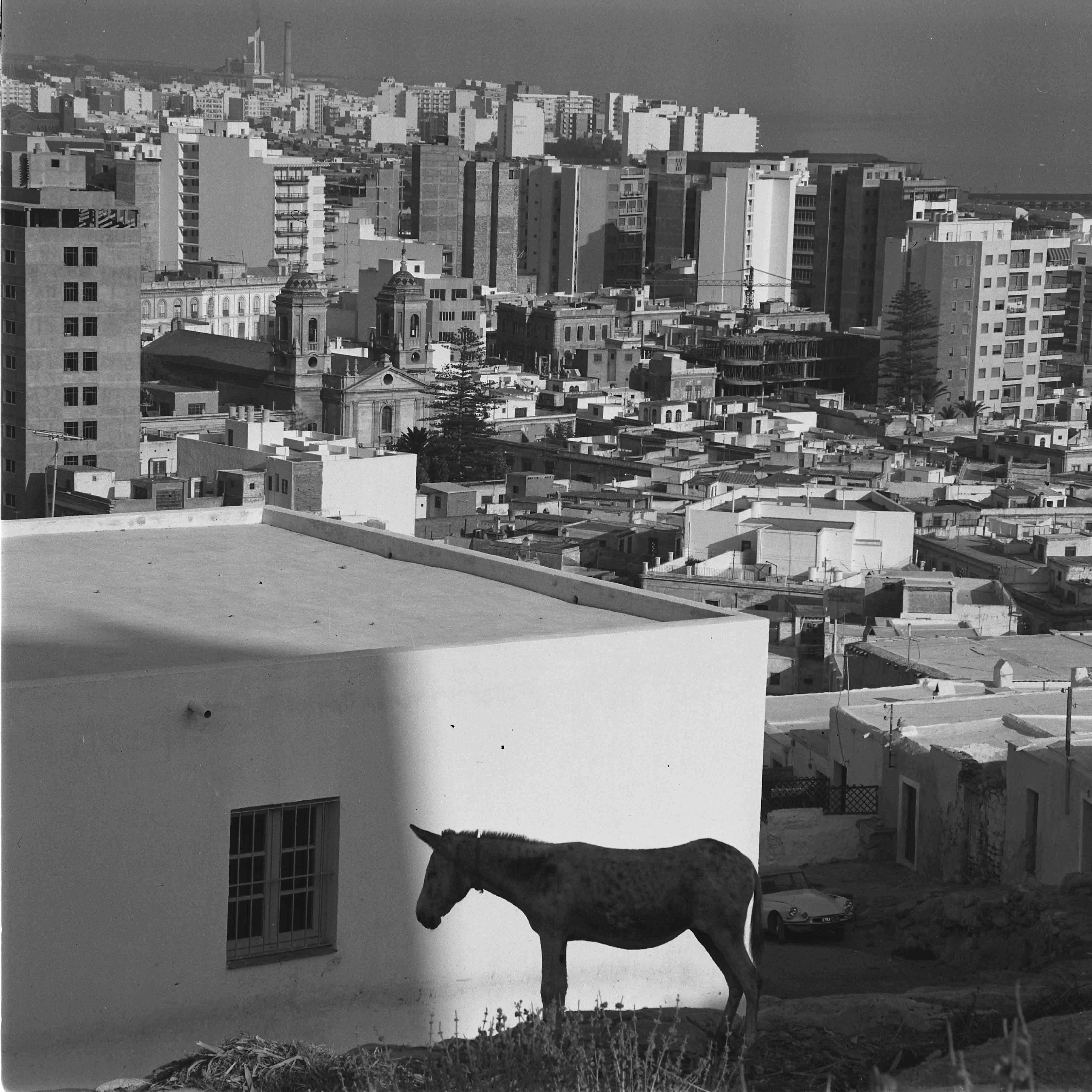 La Chanca, Almería, 1957<br/>Impresión de tintas de pigmento / Inkjet print