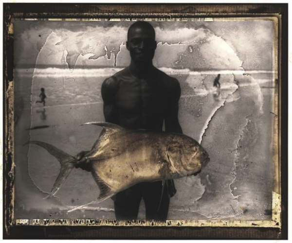 Le Pêcheur D'assinie. Serie Costa De Marfil, 2000<br/>Impresión de tintas de pigmentos / Inkjet