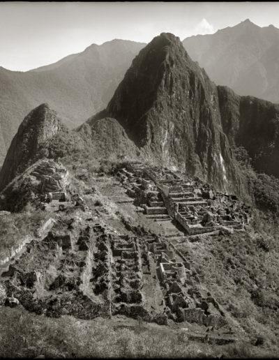 Panorámica Mcchu Picchu (Ciudadela), 1925<br/>Gelatina de plata / Silver gelatin print